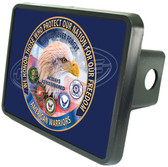 American Warriors Honored Trailer Hitch Plug