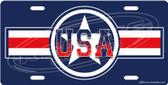 USA Stars & Stripes Trailer Hitch Plug