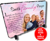 Personalized Family Prayer Stone Plaque