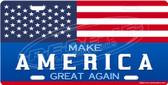 Make America Great Again Patriotic License Plate Tag