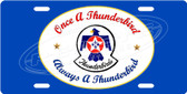 Thunderbirds License Plate Tag