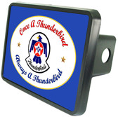 Thunderbirds Blue Trailer Hitch Cover