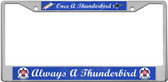 Thunderbirds License Plate Frame