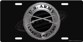 Army LRS License Plate Tag