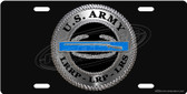Army LRRP CIB License Plate Tag