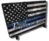 Proud Police Officer Law Enforcement Family Stone Plaque