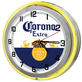 Corona Beer Garage Clock