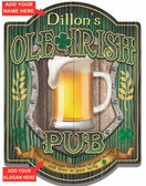 Personalized Irish Pub Wall Sign
