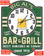Bar and Grill Sign Green