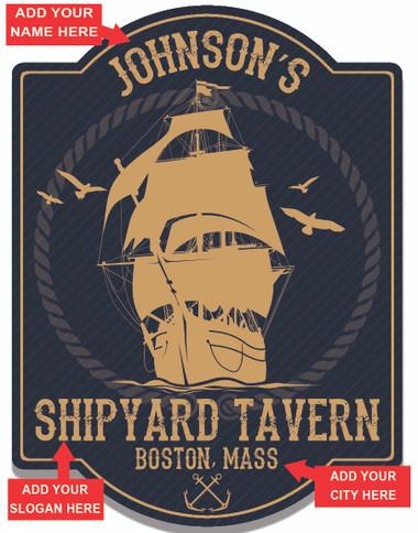 Shipyard Tavern Blue