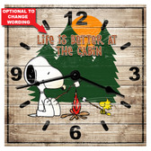 Personalized Cottage Life Decorative  Wall Clock