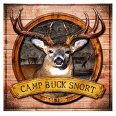 Personalized Deer Hunting Camp Decorative  Wall Sign