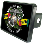 Vietnam Veteran Semper Fi Trailer Hitch Plug Cover