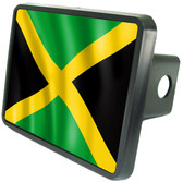 Jamaican Flag Trailer Hitch Plug Cover