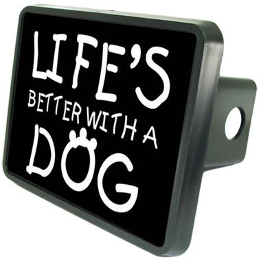 "Dog Lover 2"" Hitch Plug"