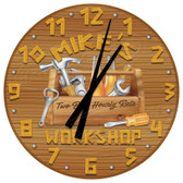 Personalized Garage Workshop  Wall Clock