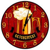 Personalized Beer Mug Decorative Wall Clock