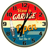 Personalized Vintage Garage Decorative Wall Clock