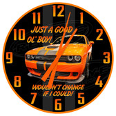 Good Old Boy Muscle Car Decorative Wall Clock