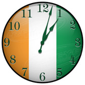Ireland Flag Patriotic Decorative Wall Clock