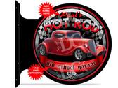 Hot Rod Speed Shop Garage Red