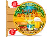 Backyard Bar & Grill Patio Sign