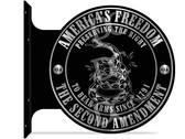 Second Amendment Hang Up Sign