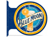 Blue Moon Beer Bar Sign