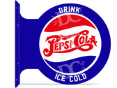 Pepsi Themed Vintage Metal Sign