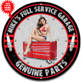 Mechanic Full Service Garage Black Theme