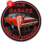 Rear End Specialist Metal Sign