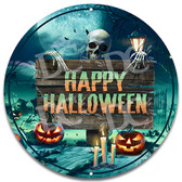 Trick or Treat Halloween Metal Wall Sign