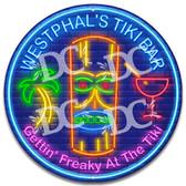 Tiki Idol Tiki Bar Neon Themed Sign