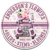 Flower Shop Home Welcome Sign