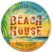 Beach House Customized Welcome Sign