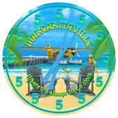 Personalized Margarita Bar Wall Clock