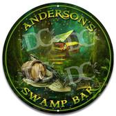 Bayou Swamp Bar Metal Wall Sign
