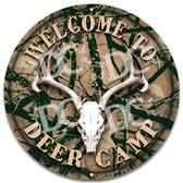 Deer Camp Welcome Sign