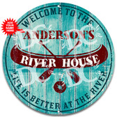 River House Welcome Sign