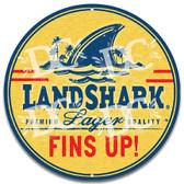 Landshark Beer Novelty Metal Wall Sign