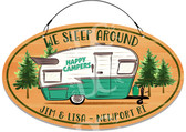 Camper Campsite Funny Welcome Sign - Customized