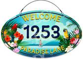 Beach Chair, Adirondack, Beach, Cottage, Lake House, Nautical, Shells, Welcome, Decor