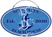 Sea Turtle Decorative Home Welcome Sign