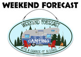 Camping Campsite Welcome Sign