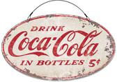 Vintage Coke Rustic Sign