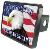 American Patriotic Eagle Hitch Cover