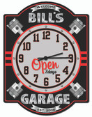 Personalized Garage Piston Wall Clock