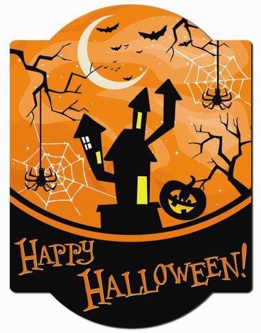 Happy Halloween Wall Sign