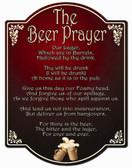 Beer Prayer Wall Sign