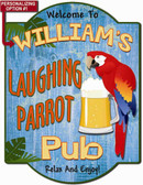 Laughing Parrot Wall Sign